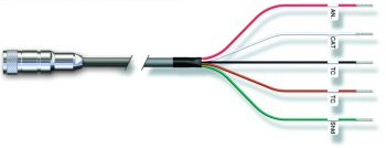 VP cable to ferrule