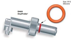 D405 oxyprobe sensor with R15 silicone o-ring