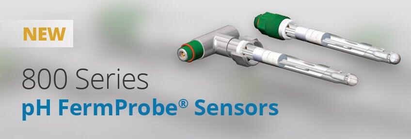 F-800 FermProbe pH sensor