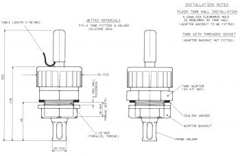 WPE27 Insertion Housing Dimension Drawing